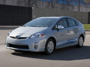 2009 Toyota Prius Plug-In Hybrid Pre-production Test Car