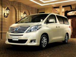 2011 Toyota Alphard Hybrid G L Package 4WD