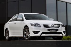 Toyota Aurion White Limited Edition 2011 года