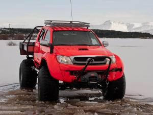 Toyota Hilux AT44 South Pole Expedition Arctic Trucks 2011 года