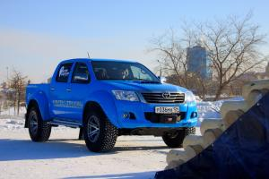 Toyota Hilux Double Cab AT35 by Arctic Trucks 2011 года