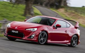 Toyota GT 86 GTS Aero Package 2012 года (AU)