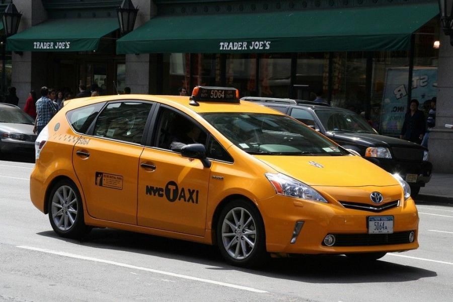 Toyota Prius V New York City Taxi