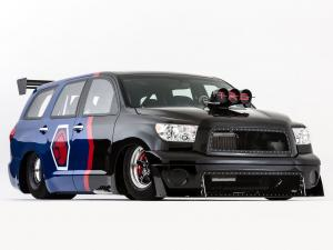 2012 Toyota Sequoia Family Dragster by Antron Brown Team
