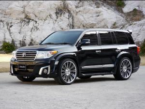 Toyota Land Cruiser Sports Line Black Bison Edition by WALD 2013 года