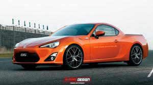 Toyota GT 86 Pickup by X-Tom Design 2014 года