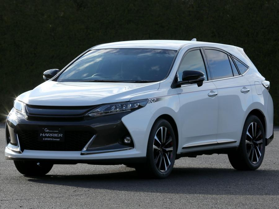 2014 Toyota Harrier G Sports Concept
