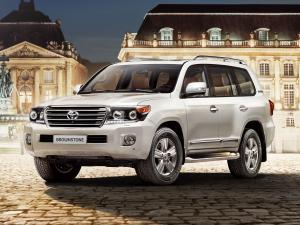 2014 Toyota Land Cruiser 200 Brownstone