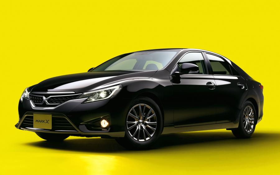 2014 Toyota Mark X 250G Yellow Label