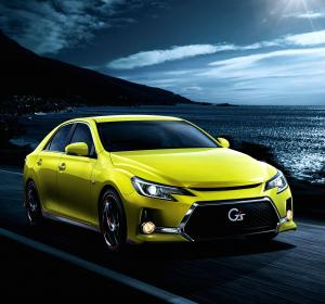 2012 Toyota Mark X 350S G's Yellow Label