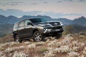 Toyota Fortuner GXL 2015 года