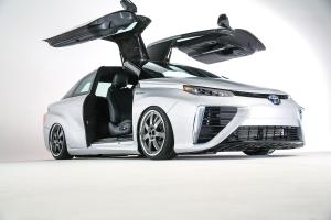 Toyota Mirai Back to the Future Concept 2015 года