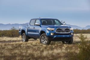 Toyota Tacoma Limited Double Cab 2015 года