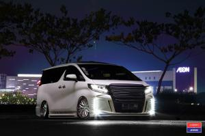 Toyota Alphard X Work on Vossen Wheels (VWS-2) 2016 года
