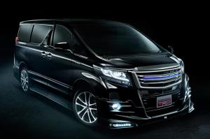 Toyota Alphard by TRD 2016 года