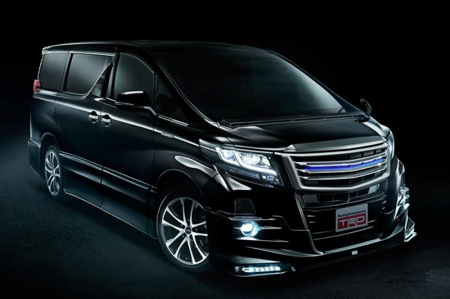 Toyota Alphard by TRD