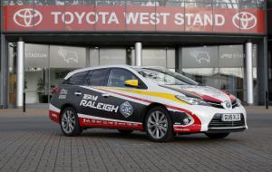Toyota Auris Touring Sports Hybrid Team Raleigh-GAC '2016