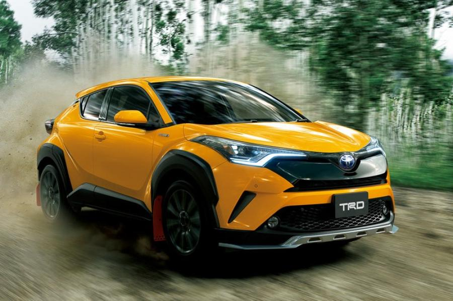Toyota C-HR Hybrid Extreme Style by TRD