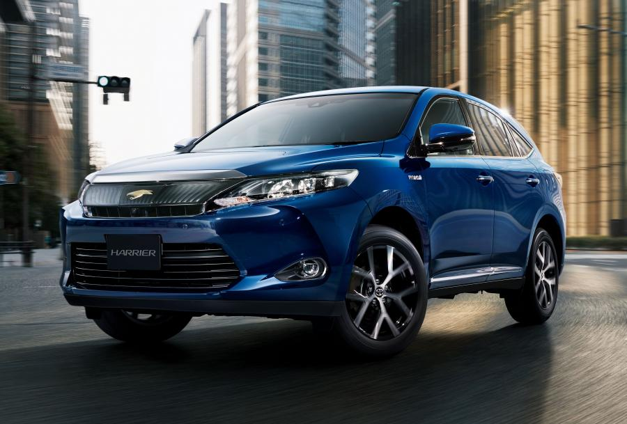 2016 Toyota Harrier Style Ash