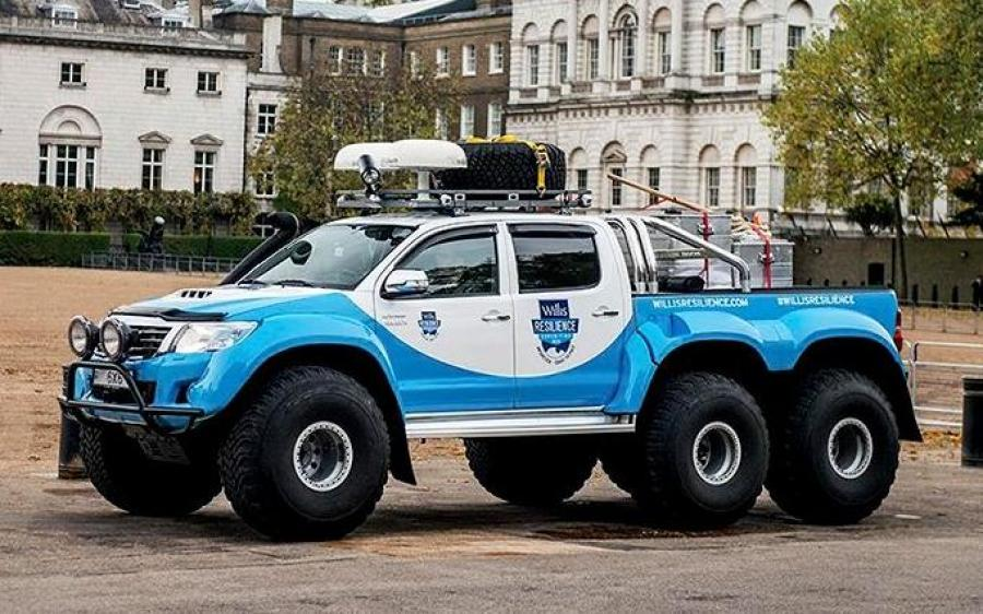 Toyota Hilux AT44 Willis Resilience Expedition 6x6 by Arctic Trucks