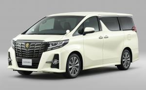 2017 Toyota Alphard S A Package Type Black