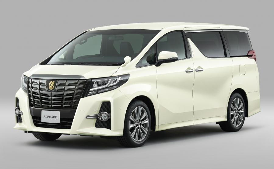 Toyota Alphard S A Package Type Black
