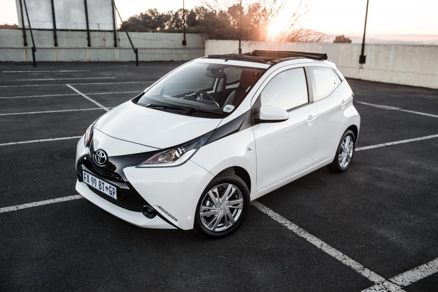 Toyota Aygo x-cite 5-Door (ZA) '2017