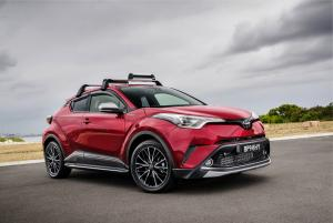 Toyota C-HR with Toyota Genuine Accessories 2017 года (AU)