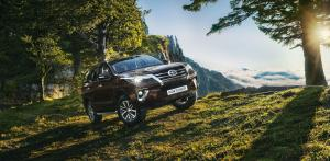 Toyota Fortuner 2017 года