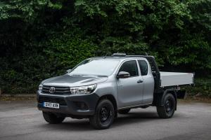 Toyota Hilux Xtra Cab Tipper 2017 года