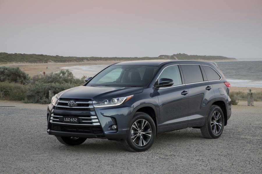 2017 Toyota Kluger GX