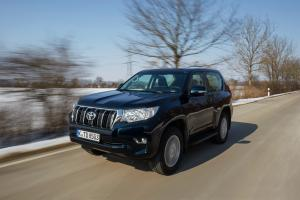 Toyota Land Cruiser Prado 3-Door 2017 года