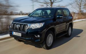 Toyota Land Cruiser Prado 3-Door 2017 года (EU)
