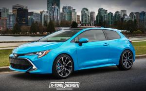 Toyota Auris 3-Door by X-Tomi Design '2018