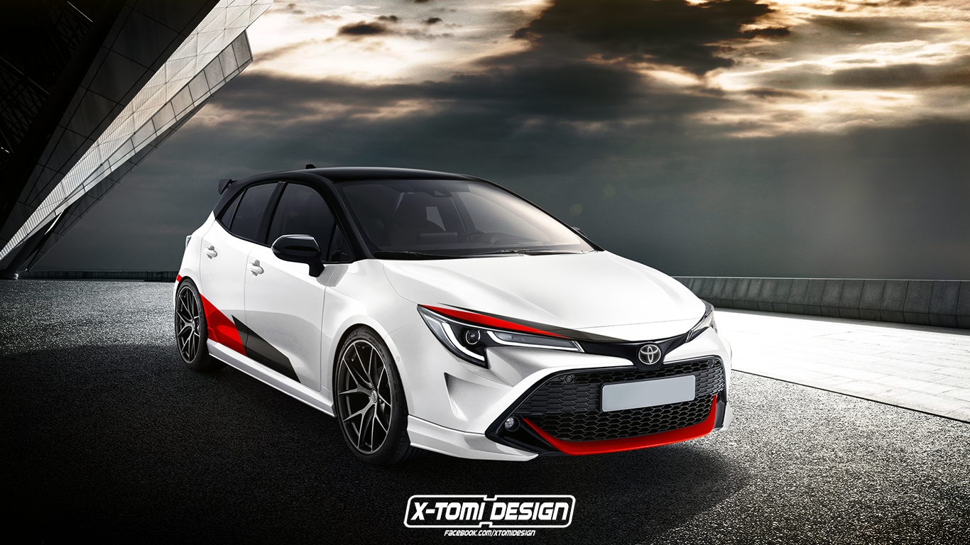 Toyota Auris GRMN by X-Tomi Design 2018 года