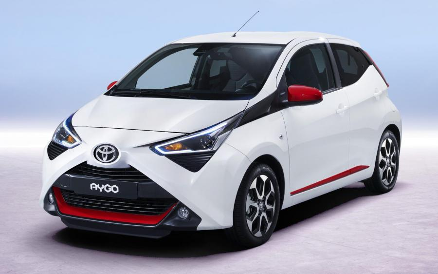 Toyota Aygo 5-Door (WW) '2018