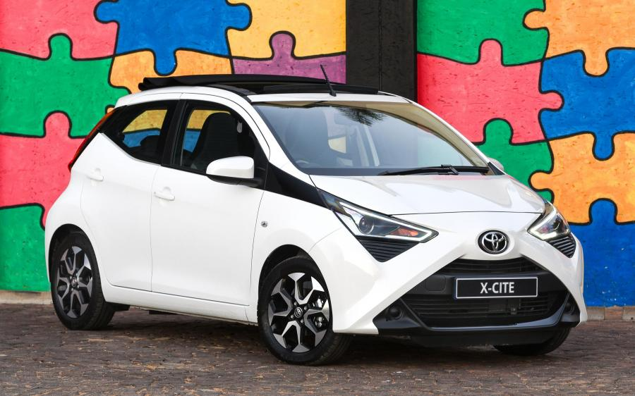 Toyota Aygo x-cite 5-Door (ZA) '2018