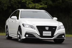 2018 Toyota Crown Prototype RS 2.0 Turbo