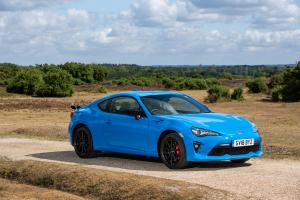 Toyota GT 86 Blue Edition 2018 года
