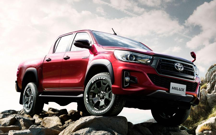 Toyota Hilux Z Black Rally Edition Double Cab (JP) '2018