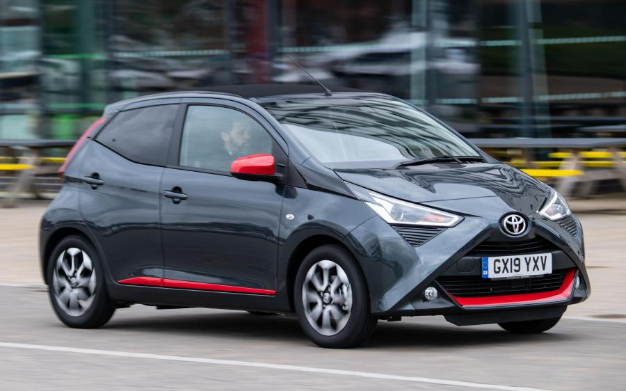 Toyota Aygo x-trend 5-Door (UK) '2019