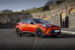 Toyota C-HR Hybrid Orange Edition 2019 года