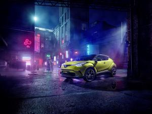 2019 Toyota C-HR Neon Lime powered by JBL