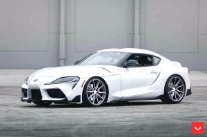 2019 Toyota GR Supra on Vossen Wheels (HF-3)