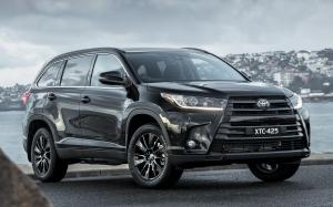 Toyota Kluger Black Edition 2019 года