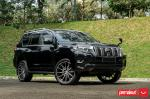 Toyota Land Cruiser Prado by Permaisuri on Vossen Wheels (HF6-1) 2019 года