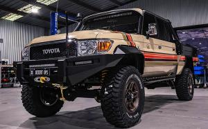Toyota Land Cruiser Supertourer Desert Ops by Patriot Campers 2019 года