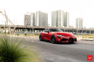 2020 Toyota GR Supra on Vossen Wheels (HF-5)