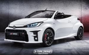 Toyota GR Yaris Cabrio by X-Tomi Design 2020 года