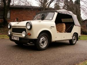 Trabant Tramp Roadster 1957 года